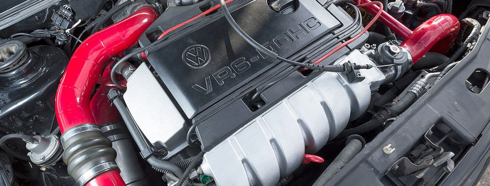 So fing alles an !!! VR6 Turbo bis 600 PS, noch heute ein standesgemäßes Triebwerk !!!