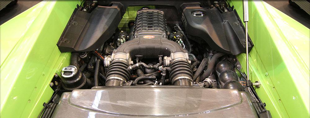 ... oder mit Rothe Kompressor-Umbau und 780PS & 800 Nm!